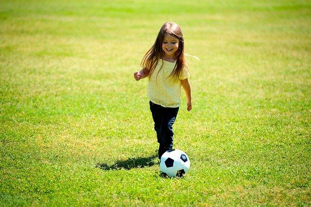 サッカーのリフティング
